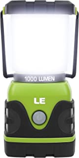 LE 1000lm Dimmable Portable LED Camping Lantern 4 Modes Water Resistant Light Battery Powered Lamp for Home Garden Outdoor...