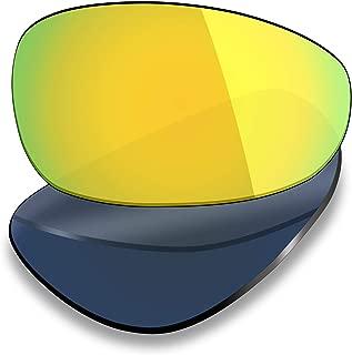 UV400 Replacement Lenses for Oakley Juliet - 24K Gold