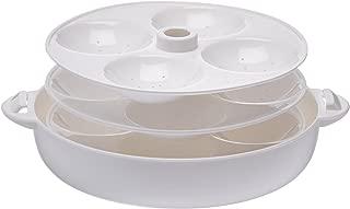Milton HC-207 Microwave Idli Maker and Steamer, Makes 12 Idlis, White