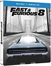 Fast & Furious 8 Steelbook Exclusive Limited Edition Steelbook Blu-ray
