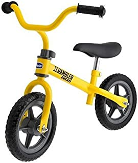 Chicco Ducati Scrambler balanscykel för barn från 2–5 år, barncykel utan pedaler för balans för pojkar och flickor, juster...