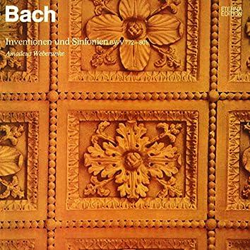Bach: Inventionen und Sinfonien, BWV 772-801
