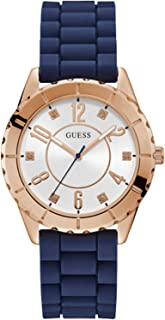 Guess Blue Rubber Watch-W1095L2