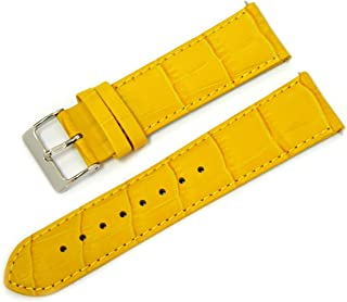 CASSIS AVALLON Alligator Grain Embossed Calf Watch Strap 22mm with Tool