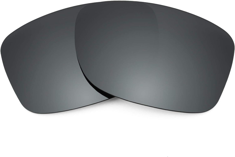 Revant Verres de Rechange pour Oakley Jupiter Factory Lite Chromé Noir Mirrorshield - Polarisés