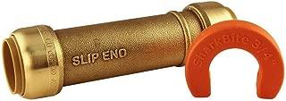 SharkBite U3016LFA Lead-Free DZR 3/4-inch Brass Push-to-Connect Slip Coupling