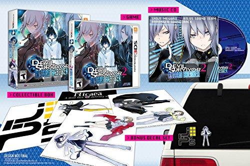 Shin Megami Tensei: Devil Survivor 2 Record Breaker Collector's Edition (Decal Set + Music CD)