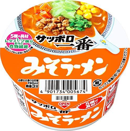 7位:サンヨー食品『サッポロ一番 みそラーメン ミニどんぶり』
