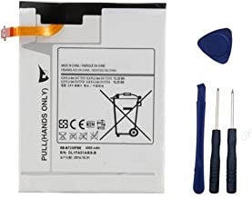 YNYNEW replacement Tablet battery for SAMSUNG GALAXY TAB 4 7.0 SM-T230 SM-T235 SM-T231 T230R T230NU T231 T2300 EB-BT230FBU EB-BT230FBE GH43-04179A With Free Tools