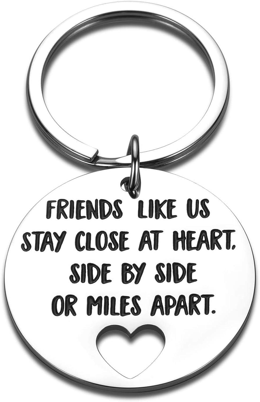 Friendship Keychain Gifts for quality assurance Friends Friend Milwaukee Mall BFF Best C Birthday