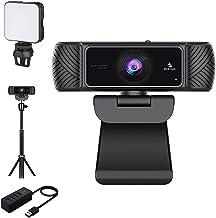 1080P Webcam Kits, NexiGo FHD USB Web Camera with Privacy Cover, Extendable Tripod Stand, Video Conference Lighting, USB ...