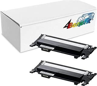 4Benefit 2 Pack Black Compatible toner cartridges for Samsung CLP-365 Toner Cartridges (CLT-406S) for Samsung K406S/C406S/M406S/Y406S 406S