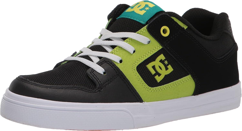 DC Unisex-Child Pure Elastic Youth Skate Shoe