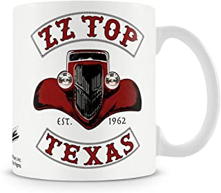 Officially Licensed ZZ-Top - Texas 1962 Coffee Mug