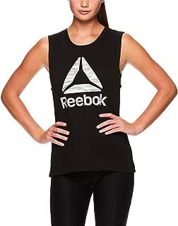 Reebok Women's Muscle Tank Top - Ladies Moisture Wicking Activewear & Workout Shirt