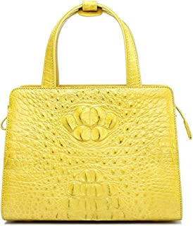 Handbags Crocodile Leather Handbag Square Fashion Wild Bag Female