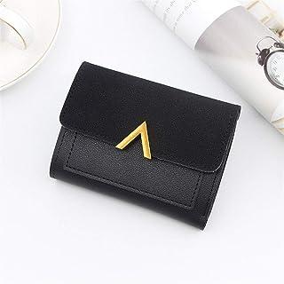GUMAOPAJIAAAqb Monederos de Mujer, Women's Wallet Retro Mini Short Leather Wallet Mini Women Fashion Wallet and Wallet Cre...