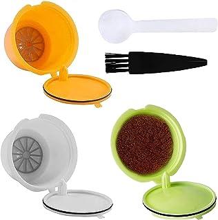 3Pcs Capsules Rechargeables Réutilisable Capsule de Café avec les Machines Nescafe Dolce Gusto Comme Mini Me Piccolo Genio...