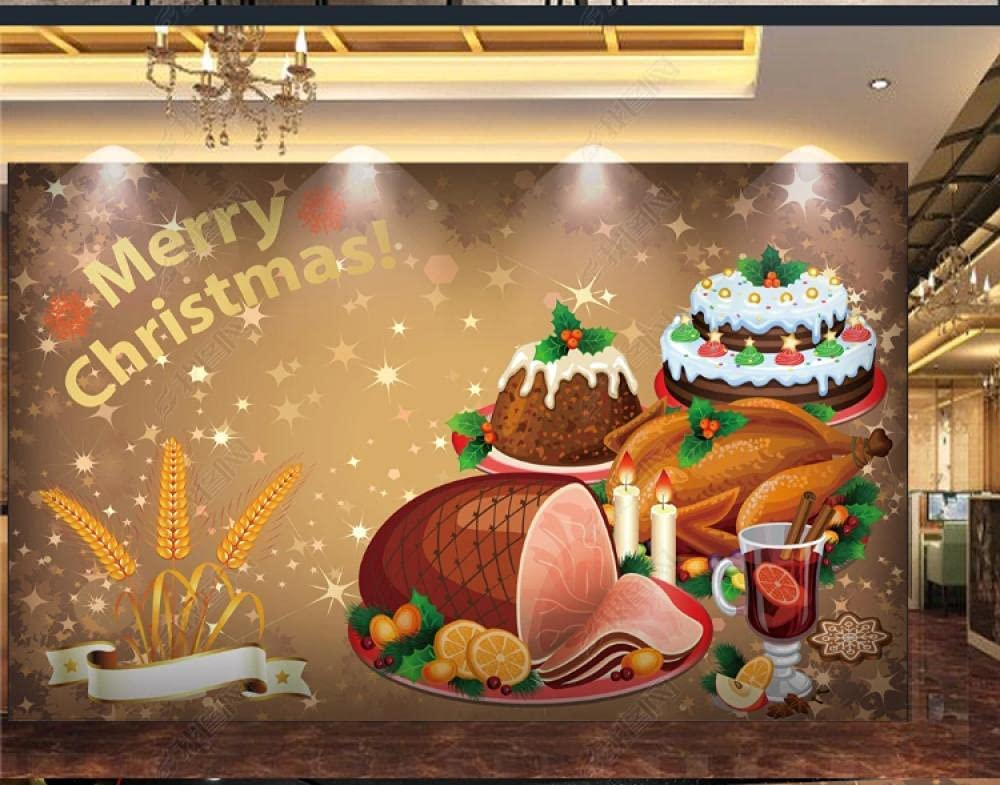 Custom High quality 3D Seamless Gorgeous Wallpaper Bread Tooling line Background wall-