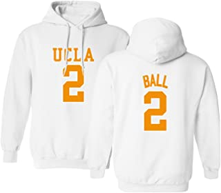 KINGS SPORTS UCLA 2017 Bruins Lonzo Ball 2 College Basketball Men's Hoodie Sweatshirt