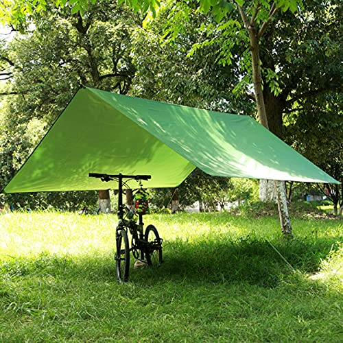 Select Zone Portátil 3-4 persona ligera tienda de campaña impermeable lona refugio Mat hamaca cubierta