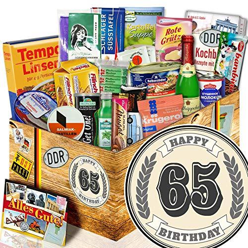 65. Geburtstags Geschenk + Geschenke zum 65 Geburtstag für Frauen + Ostpaket