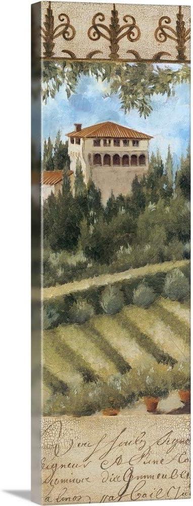 Tuscany Villa II Canvas Max 47% Baltimore Mall OFF Wall Artwork Print Italy Art