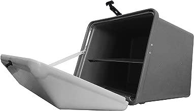 Portaequipajes Moto baúl Reparto Gris con Bandeja y Reflectantes homologados