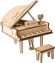 White 3D Printed Piano Table Desktop Decorative Ornament