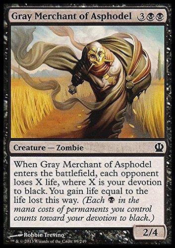 Magic The Gathering - Gray Merchant of Asphodel - Theros