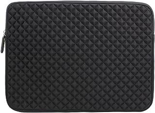 12.9-14 Inch Laptop/Tablet Sleeve Evecase Diamond Foam Splash Shock Resistant Neoprene Sleeve Bag for for Notebook Chromebook, Ultrabook, MacBook Pro/Air 13.3 / iPad Pro 12.9 Tablet - Black