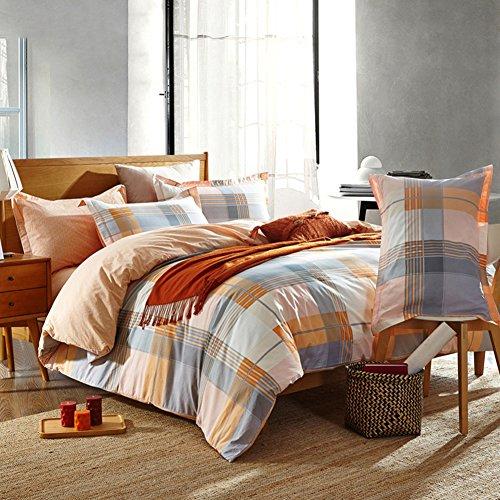 Private home textiles Fundas nórdicas colección Juegos de Cama Todo algodón Simple -A Queen1