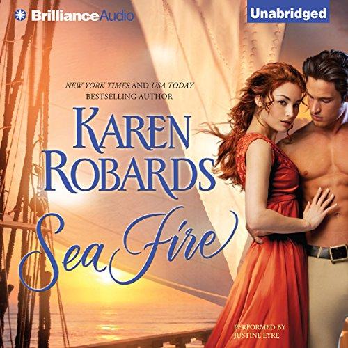 Sea Fire audiobook cover art