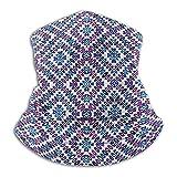 Bufanda para el Cabello Corazones Abstractos para Mujer con Cuello Ovalado y círculos ovalados