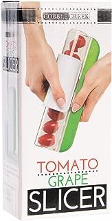 Cobble Creek Baby Tomato Slicer Kitchen Tool Stainless Steel Knife Safe Grape Slicer For Kids Fruit Slicer