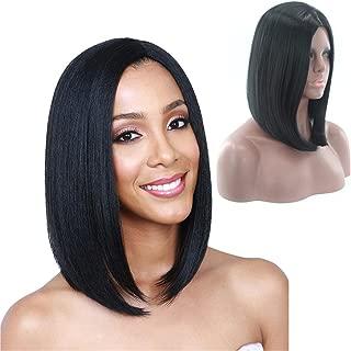 OYSRONG 35cm Fashion Bob Black Color Short Straight Cosplay Costume Wig For Women