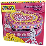 Orb Factory The 62897 Heart Box Sticky Mosaics - Joyero para Decorar con Pegatinas Mosaico (500 Piezas)
