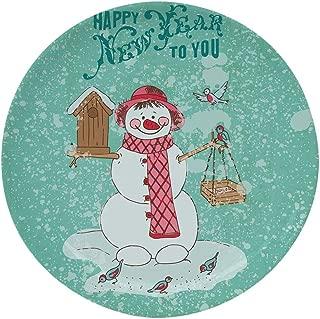 Best target home snowman plates Reviews
