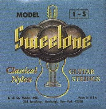 CUERDAS GUITARRA CLASICA - La Bella (1S) Sweetone (Tension Media) (Juego Completo)