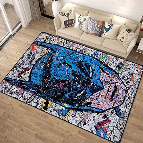Tapis Enfants Dessin animé Bleu Anime Spiderman Marvel garçon Fille Chambre Chambre d