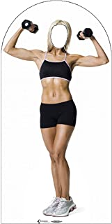 Advanced Graphics Muscle Woman Stand-In Life Size Cardboard Cutout Standup