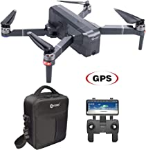 $239 » Contixo F24 Brushless Foldable Quadcopter Drone | Selfie, Gesture, Gimbal 5GHz 1080P WiFi Camera, GPS, Auto Hover, Follow Me, Waypoint 30 Minutes Flying Time Includes Storage Case (F24) (Renewed)