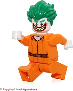 The LEGO Batman Movie MiniFigure - Joker (Prison Jumpsuit) From Set 70912