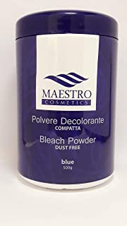 Maestro Bleaching Powder Dust Free BLUE 500grams