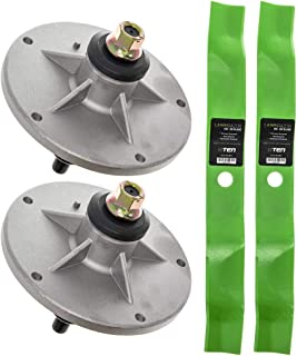 8TEN Spindle Mulching Blade Kit for Murray 40 Inch Mower Deck 405005x99B Lawn Tractors 1001200MA