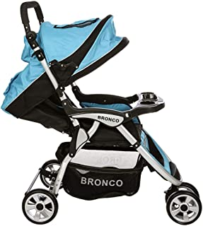Bronco LB 2613 Baby Stroller Blue