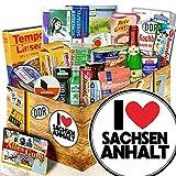 I Love Sachsen - Anhalt - Sachsen - Anhalt Andenken - DDR Spezialitäten Box