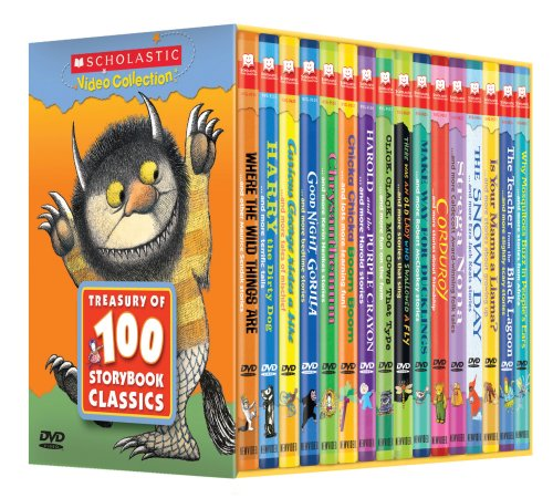 Treasury of 100 Storybook Classics (Scholastic Video Collection)