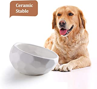 Jemirry Ceramic Dog Bowls, 8 Inch Animal Pet Food Bowl Dog Dish for Wet Food Dry Food Water Bowl