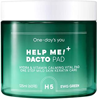 One day's you [ワンデイズユー ] ヘルプ ミー 拭き取り トナー パッド/HELP ME DACTO PAD (60枚) [並行輸入品]